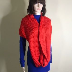 Cotton On Red Scarf 🧣 Brand New